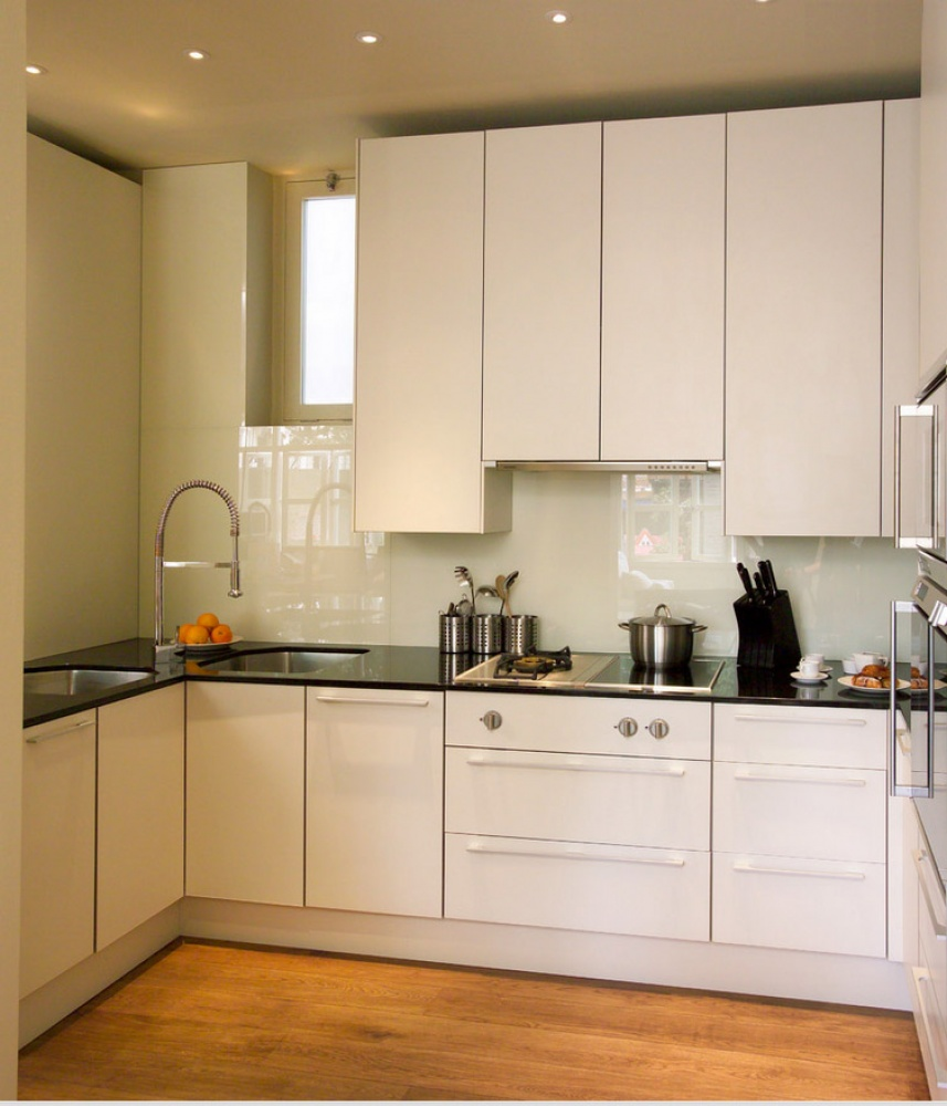 for Built in kitchen cupboards for a small kitchen