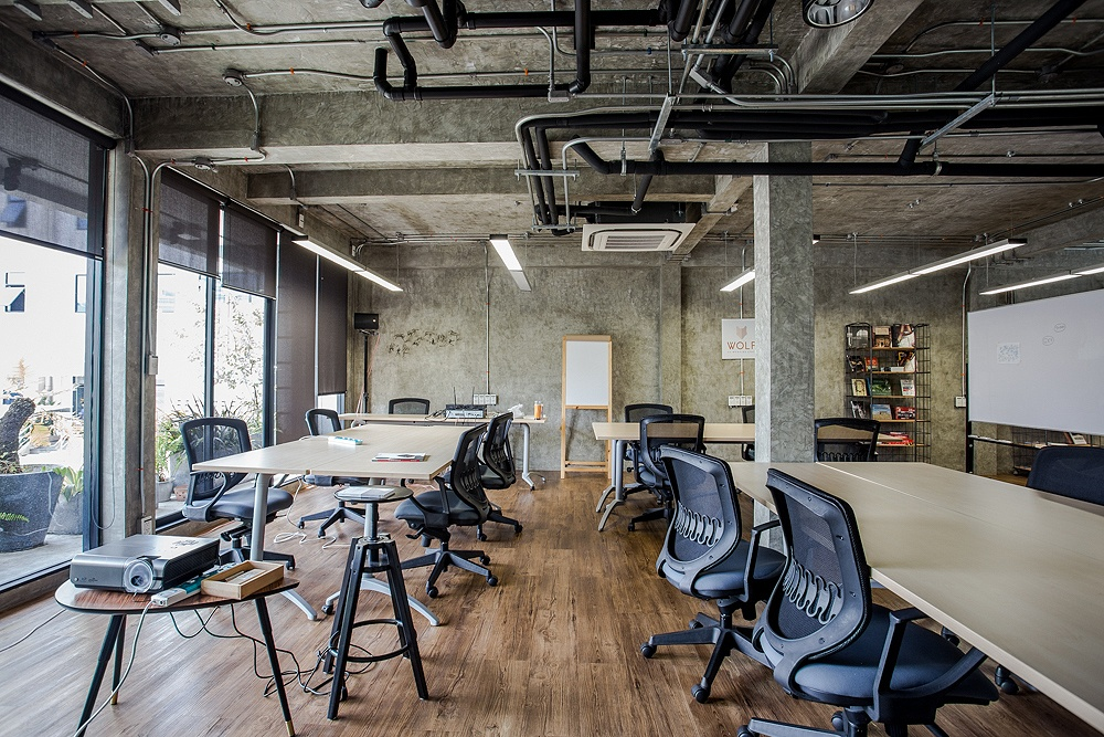 Wolf co working space lapland for Space and co