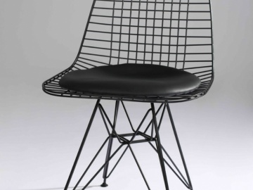 CH7171B #Net Dining Chair Black