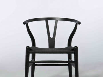 CH7251#Elea Dining Chair Ash Black
