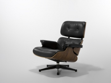 CH8068A #Ema Lounge Chair Walnut