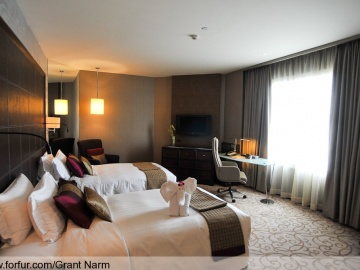 แบบห้องนอน Presidential Suite Bedroom 1: Grand Millennium Sukhumvit