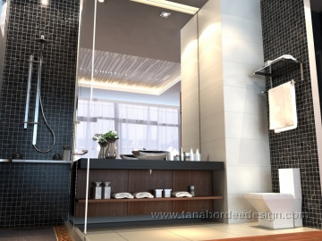 แบบห้องน้ำ Wind Condo - Ratchayothin/bathroom2