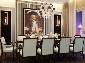 แบบห้องอาหาร The Infinity One Sathorn Square/dining room